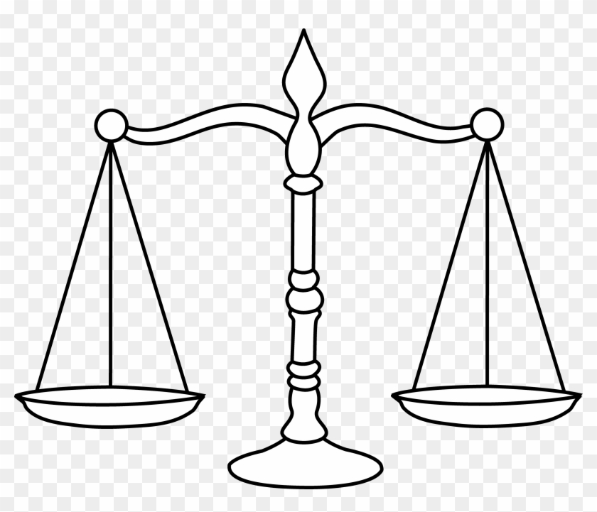 Law Scale Png.
