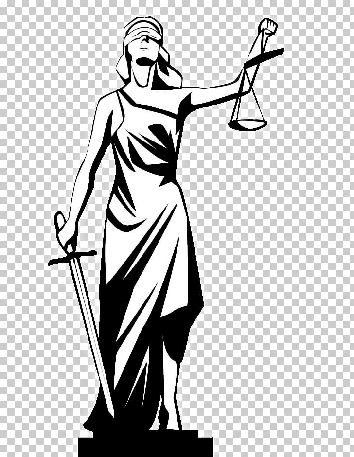 Lady Justice Drawing graphics Sketch , balance scale PNG.