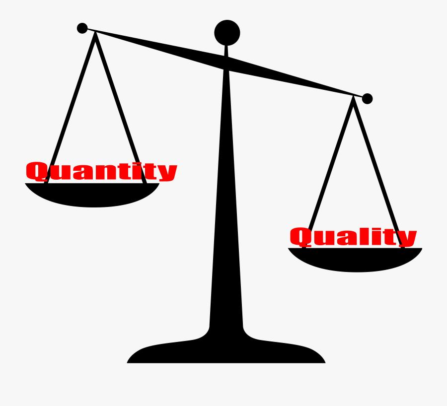 Quality Vs Quantity Icons Png.