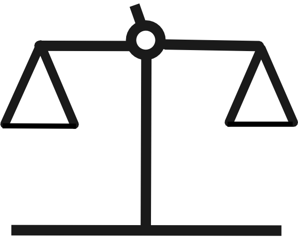 Scale Balanced Clip Art at Clker.com.