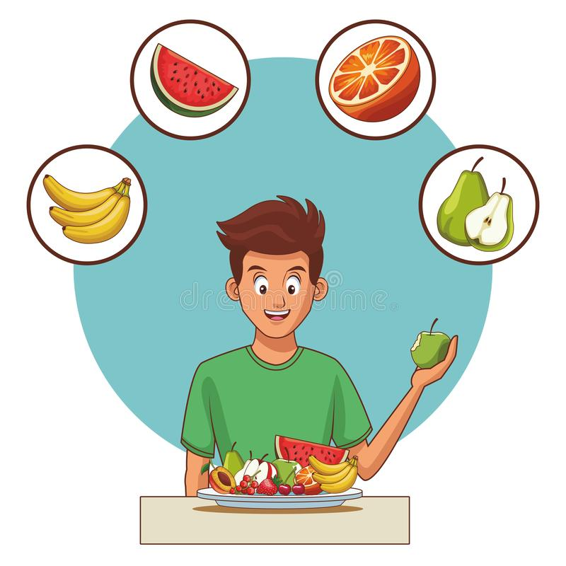 Balanced Diet Stock Illustrations.