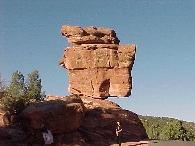 Balanced Rock, Colorado.