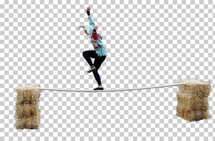 Tightrope walking Art Balance, balancing PNG clipart.