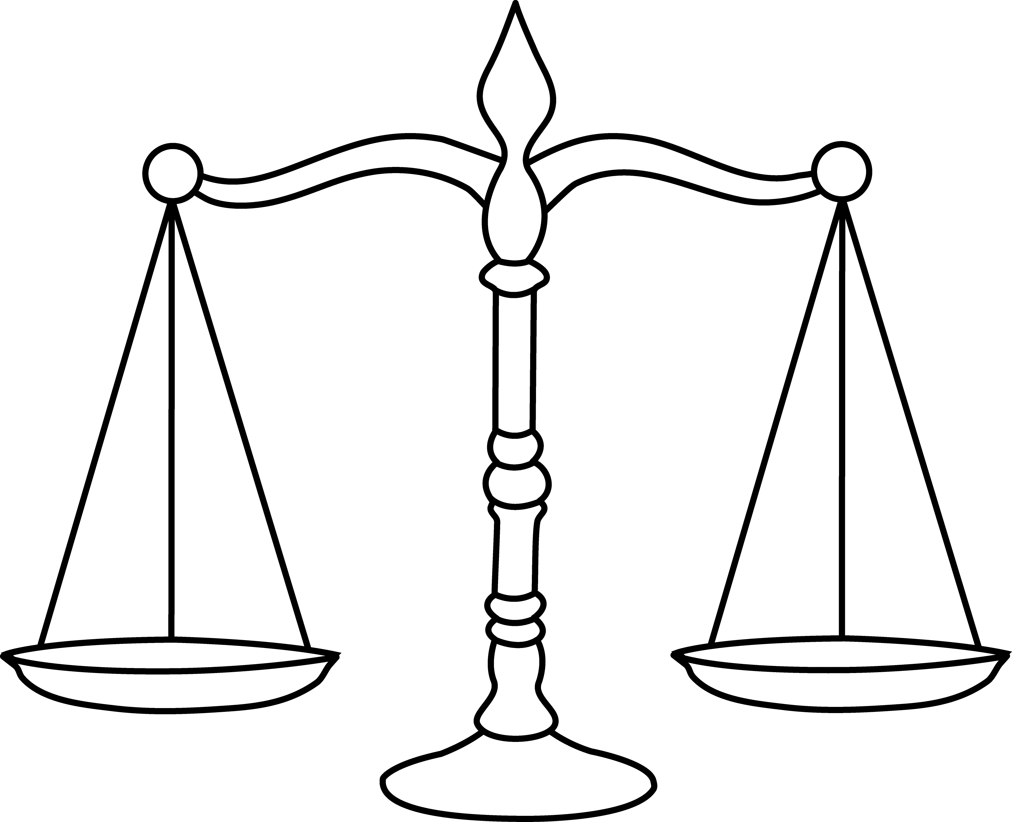 HD Law Scale Clipart.