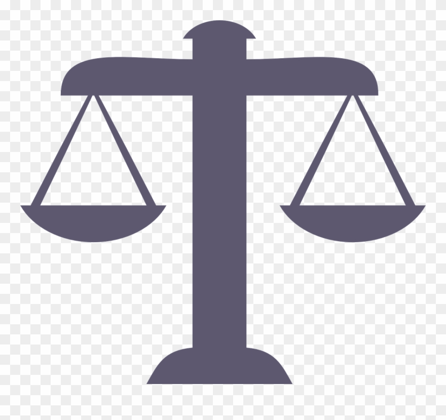 Balance Justice Icon Despite Png Image.