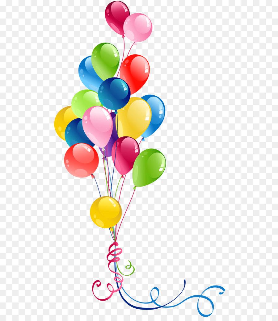 Balão, Aniversário, Download png transparente grátis.