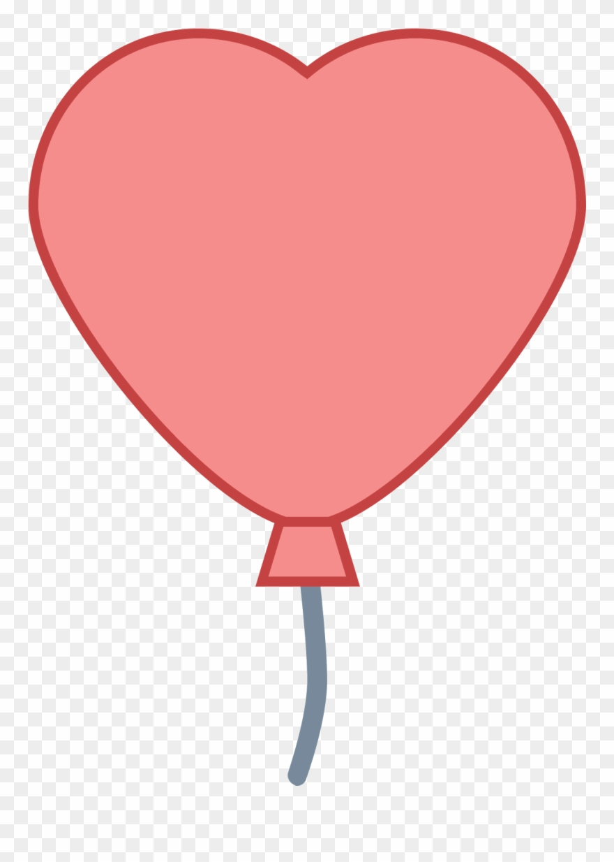 Banner Royalty Free Library Heart Balloon Png.