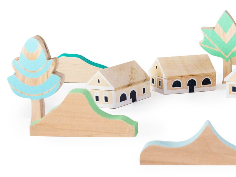 Balaton Upland Block Set by Eperfa.