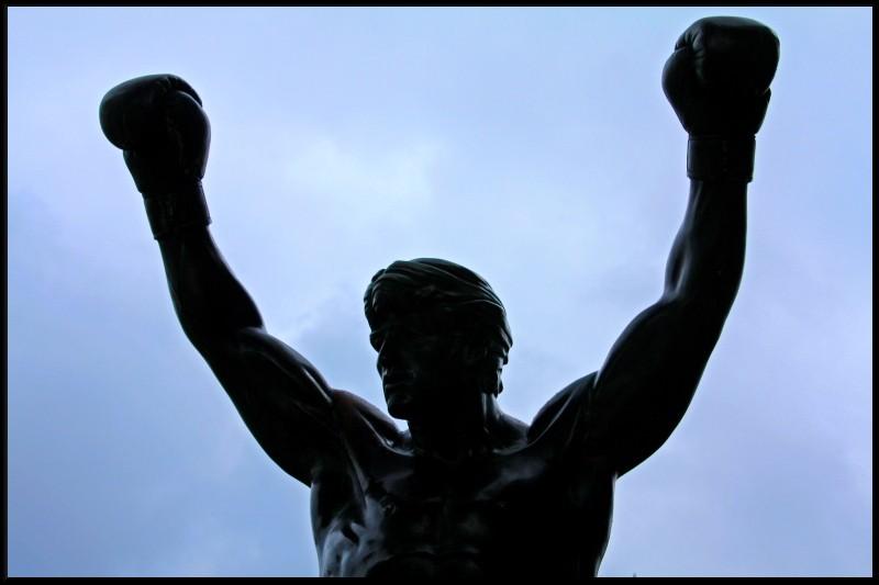 Rocky balboa clipart.