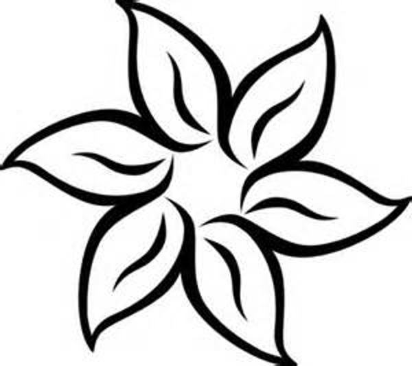 Free Black And White Flower Pics, Download Free Clip Art.