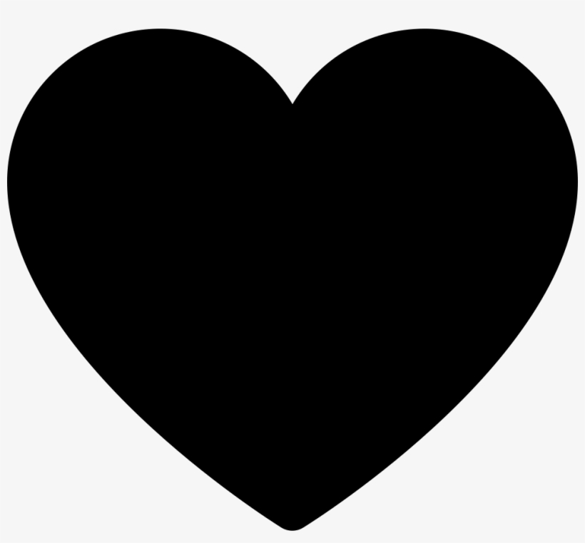Solid Black Heart Clip Art At Clker.