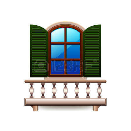 3,953 Balcony Cliparts, Stock Vector And Royalty Free Balcony.