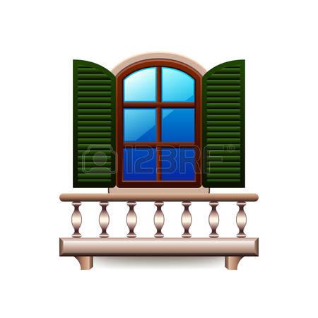 3,953 Balcony Cliparts, Stock Vector And Royalty Free Balcony.