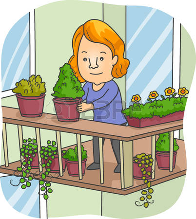 Balcony clipart clipground for Balcony cartoon