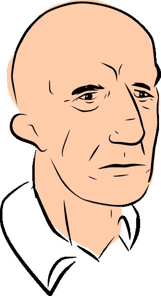 Free bald clip art.