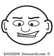 Bald head Stock Illustration Images. 1,232 bald head illustrations.