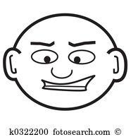 Bald head Stock Illustration Images. 1,232 bald head illustrations.