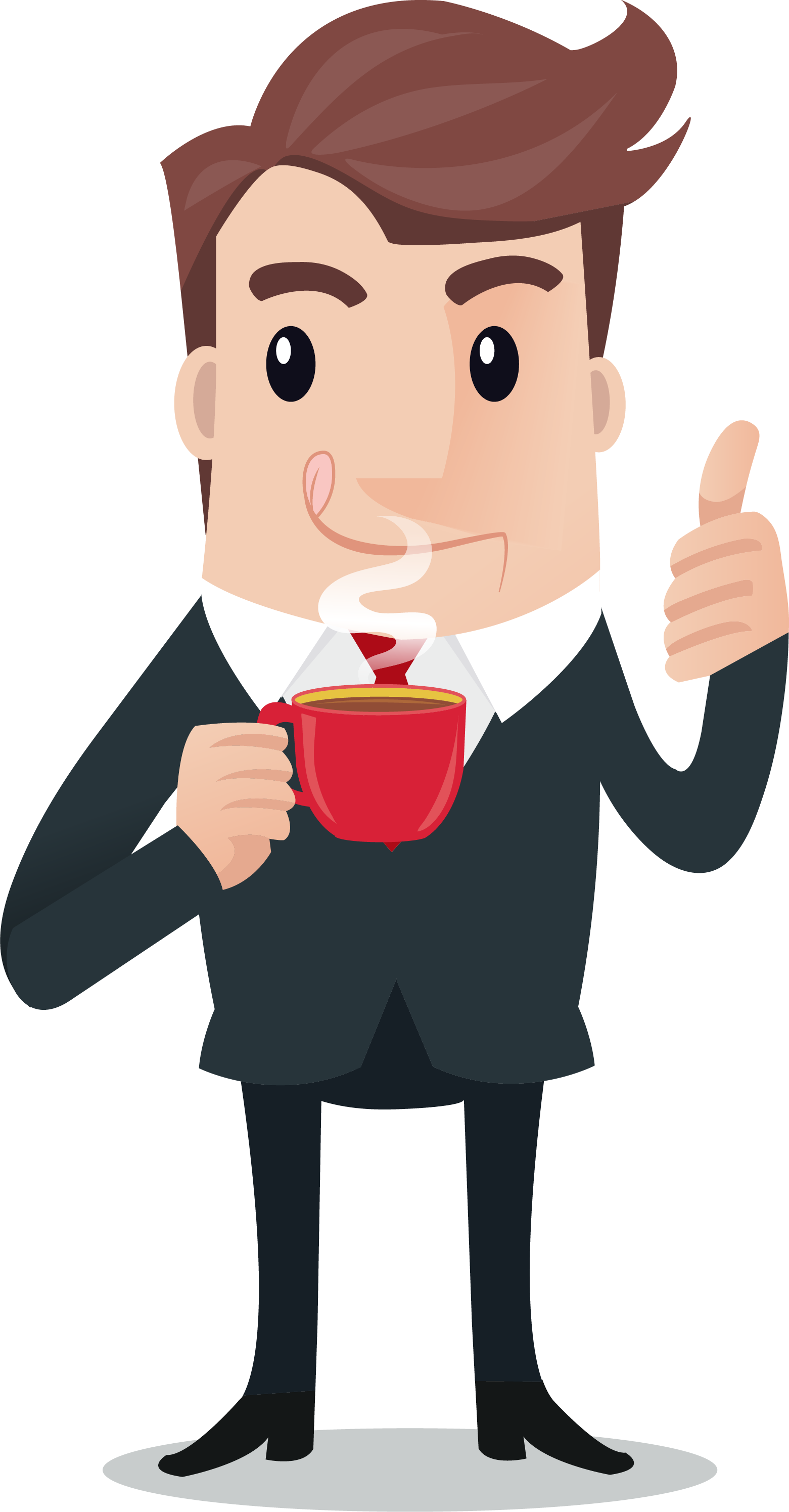 Coffee clipart man, Coffee man Transparent FREE for download.