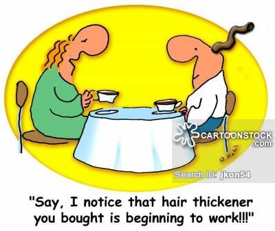Bald Patches Cartoons and Comics.