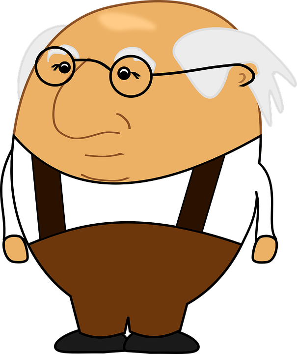 Free vector graphic: Grandfather, Bald Head, Bald Patch.