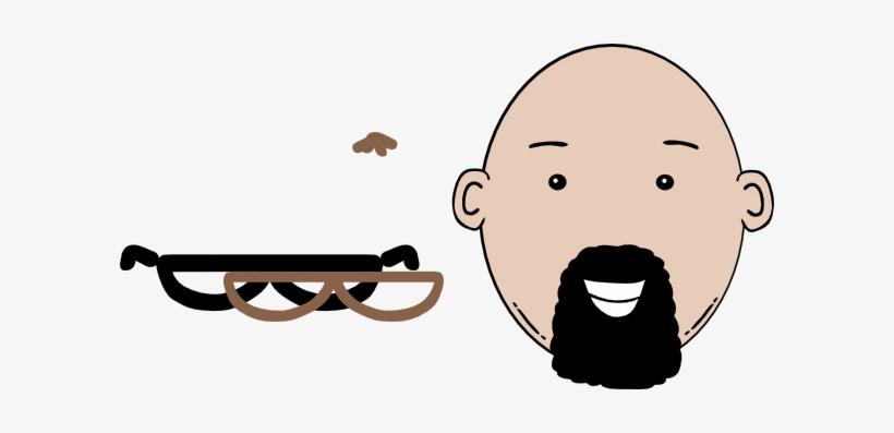 Beard Clipart Face Cartoon.