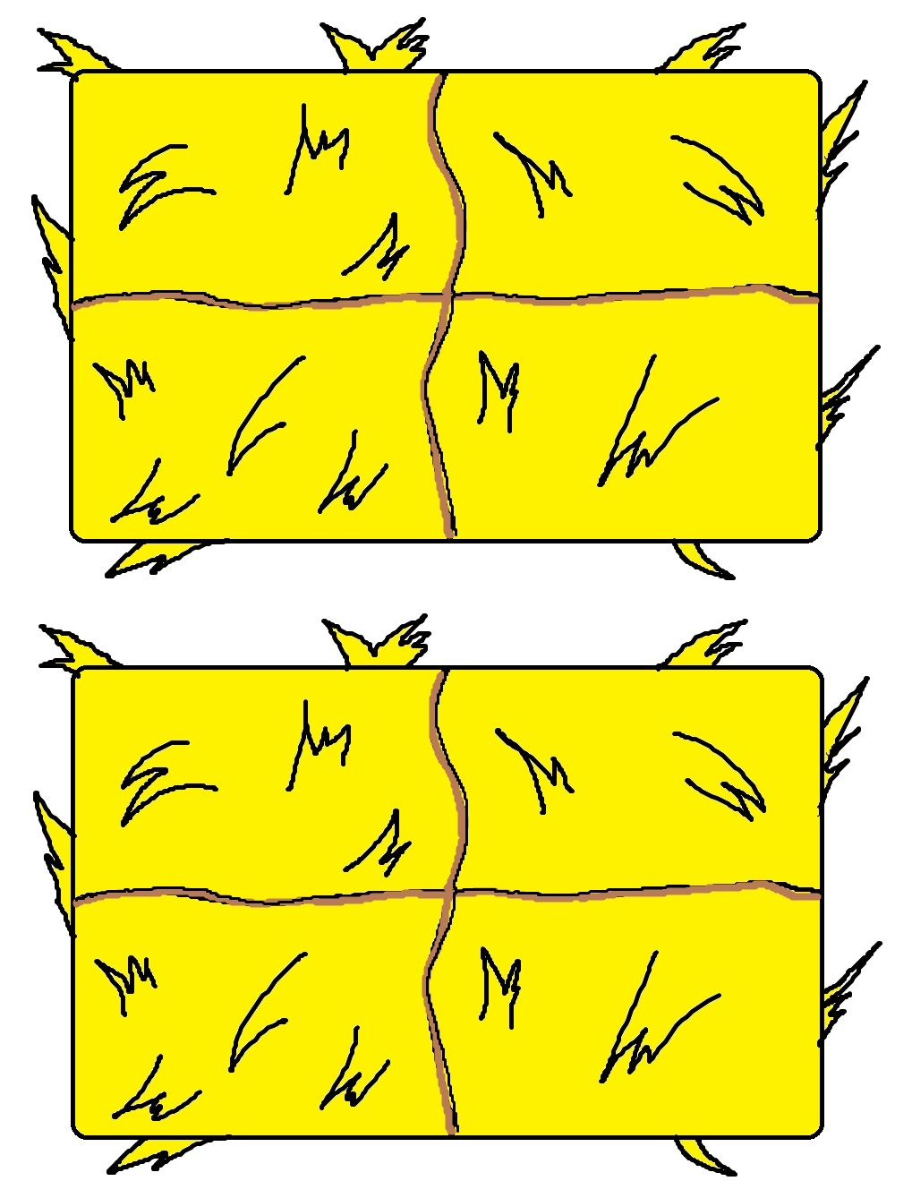 Hay Bale Clipart.