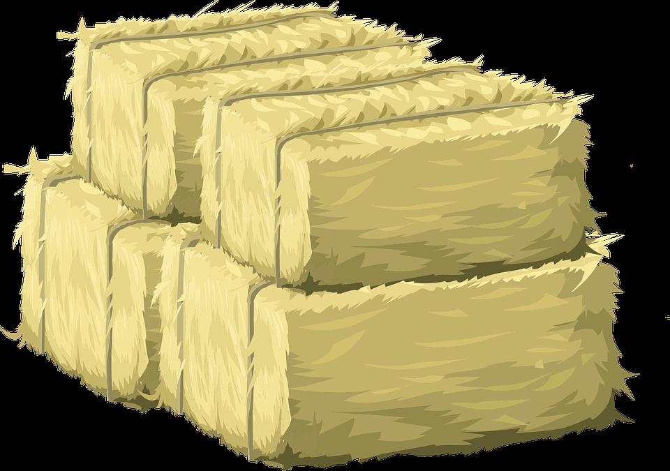 Straw Bale Clip Art.