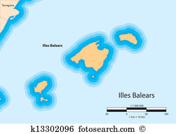 Balearic islands Clipart Royalty Free. 332 balearic islands clip.