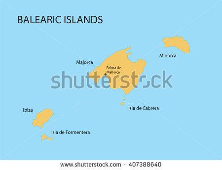 Balearic Islands Stock Vectors & Vector Clip Art.