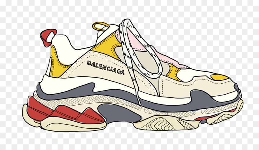 Fashion Sneakers Sports shoes Balenciaga.