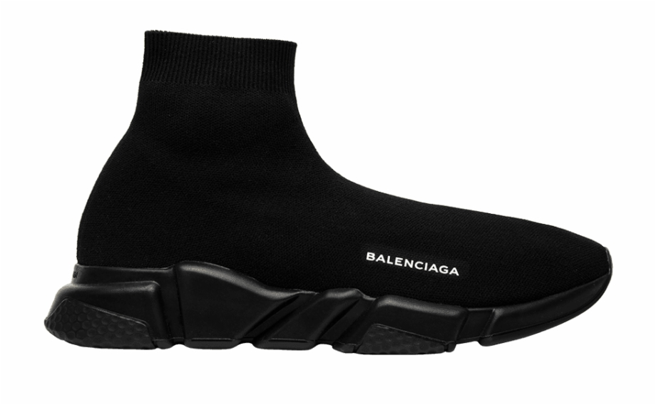 Balenciaga Speed Trainer Black Free PNG Images & Clipart Download.