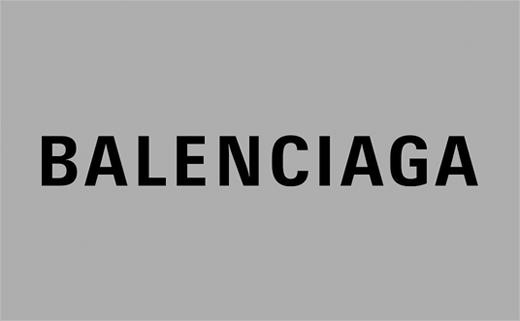 Fashion House Balenciaga Reveals New Logo Design.