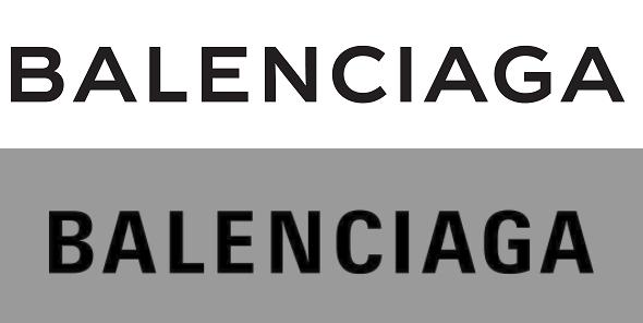 Balenciaga rolls out new logo.