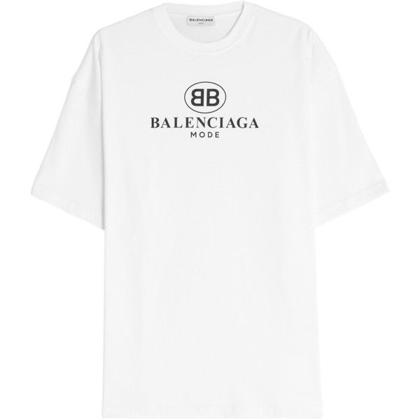 Balenciaga Logo Cotton T.