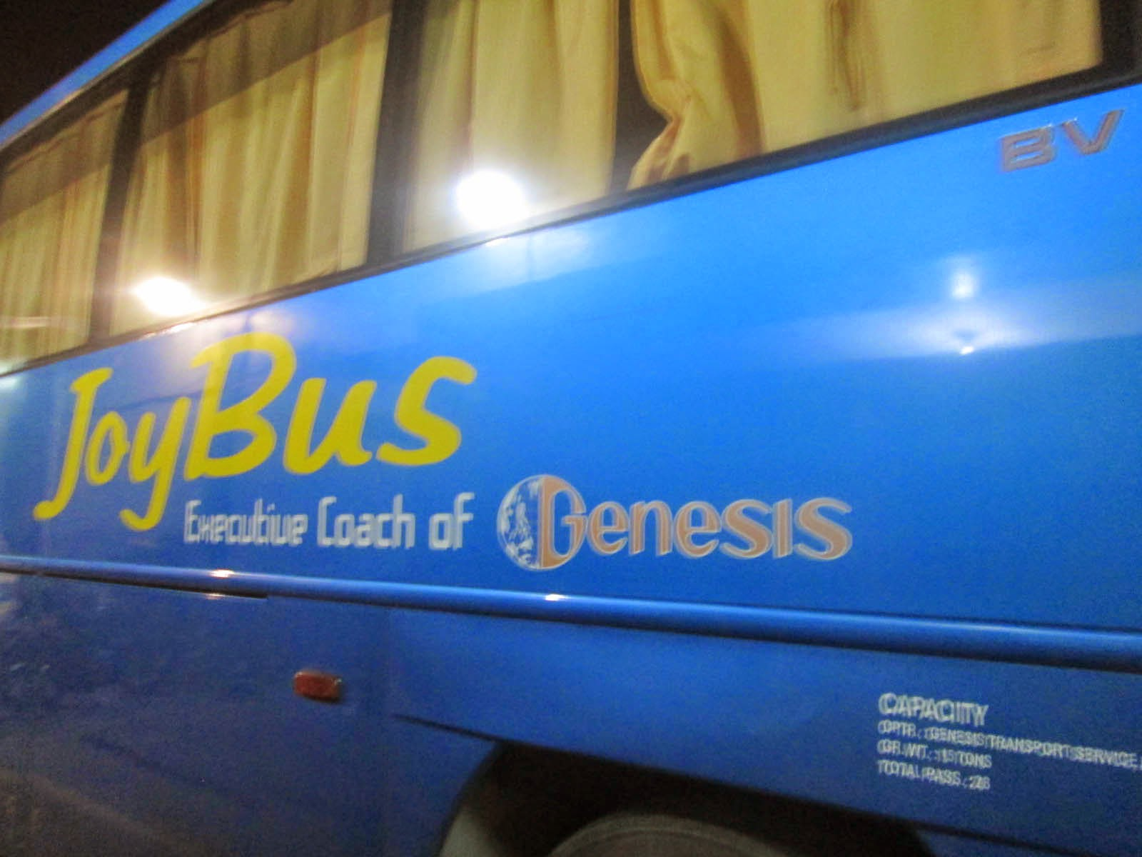 Joy Bus: Travel to Baler, Aurora, Philippines.