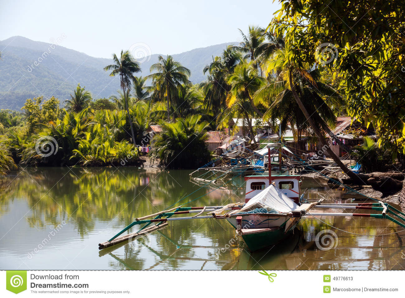 Sabang River Stock Photo.