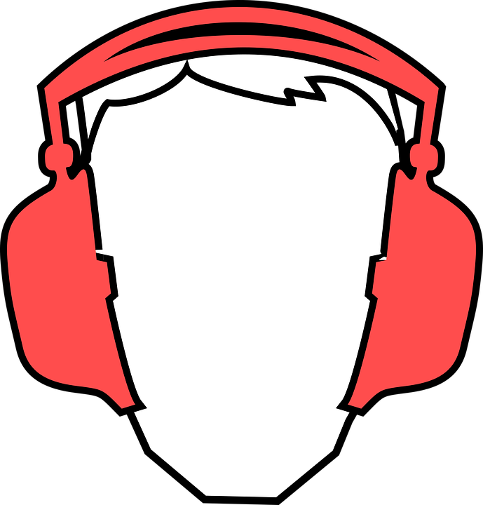 Free vector graphic: Din, Earmuffs, Ears, German.