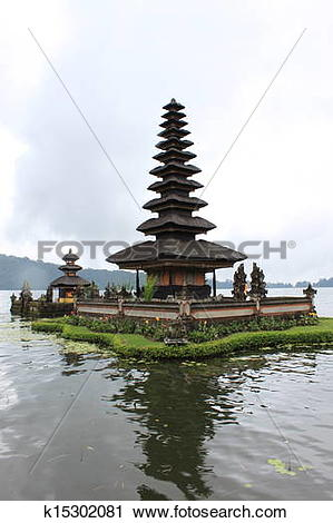 Stock Photography of Bali water temple k15302081.