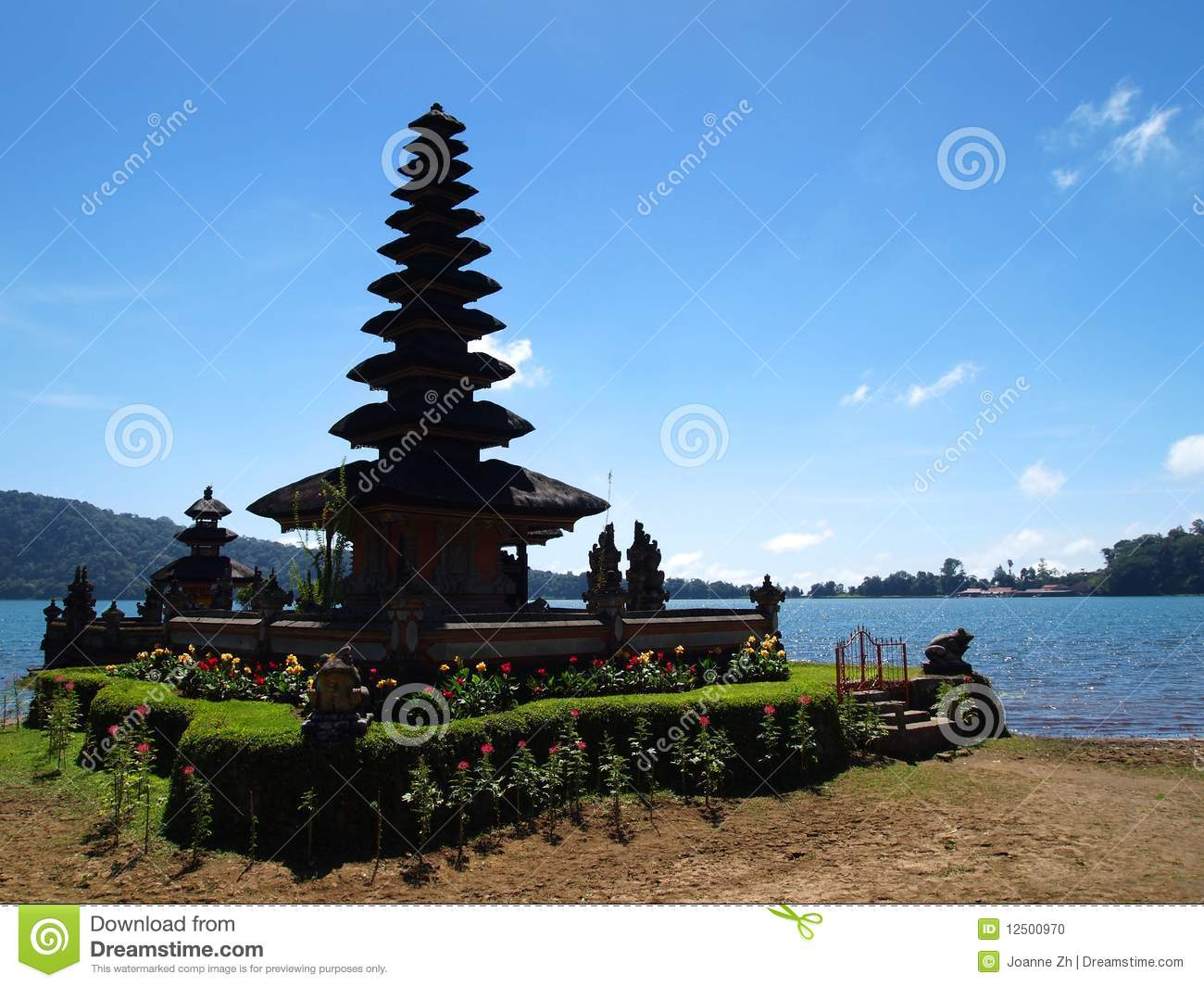 Water Temple In Bali Royalty Free Stock Photography.