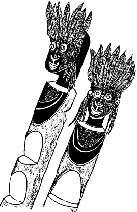Mac Ruff Sketch Books of Papua New Guinea.