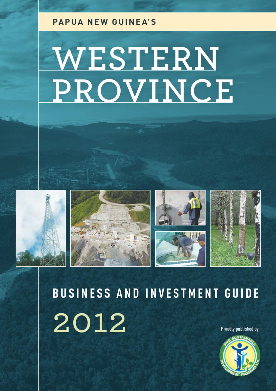Papua New Guinea's Western Province by Business Advantage.