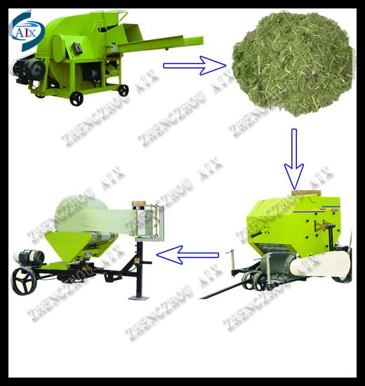 Wholesale Advance design baler machine/corn silage round baler.