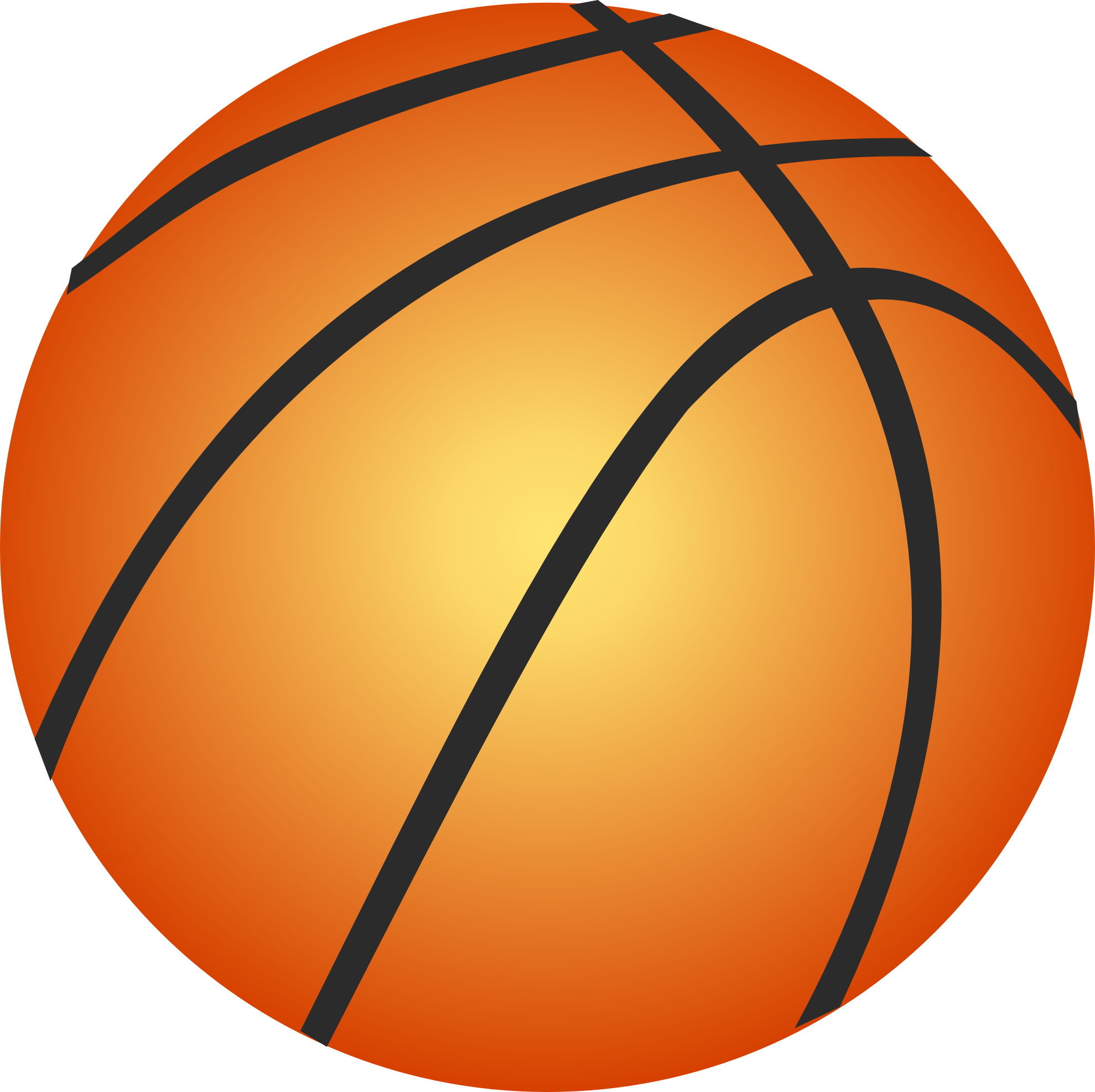 Basketball Ball Clip Art.
