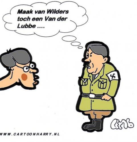 Hitler en Balkenende By cartoonharry.