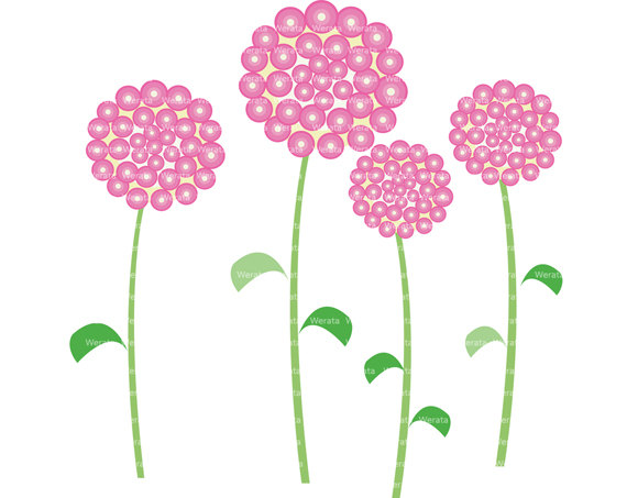 Flower Graphics Clipart.