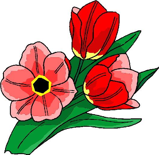 Blumen Cliparts.