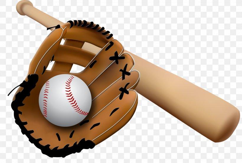 Baseball Glove Baseball Bat Clip Art, PNG, 1849x1251px.