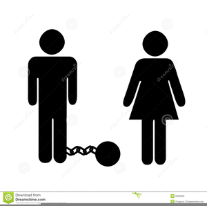 Groom Ball And Chain Clipart.