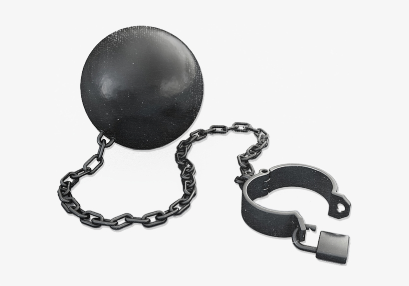 Ball And Chain Png Clip Library.