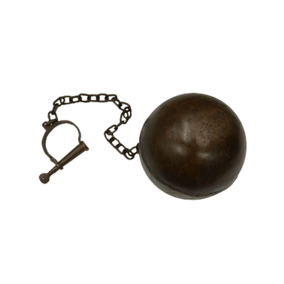 Medieval Ball and Chain transparent PNG.